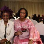 Dr Ama and Oye Lithur at YLF