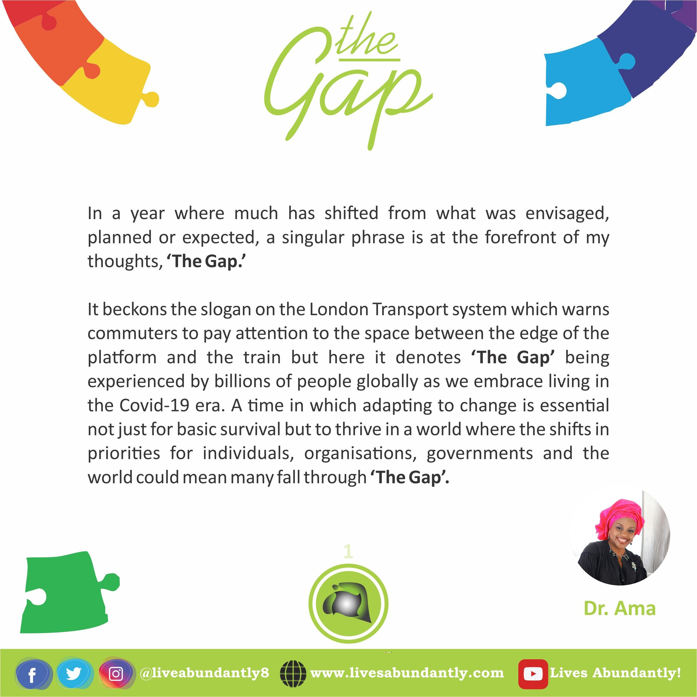 The Gap 1