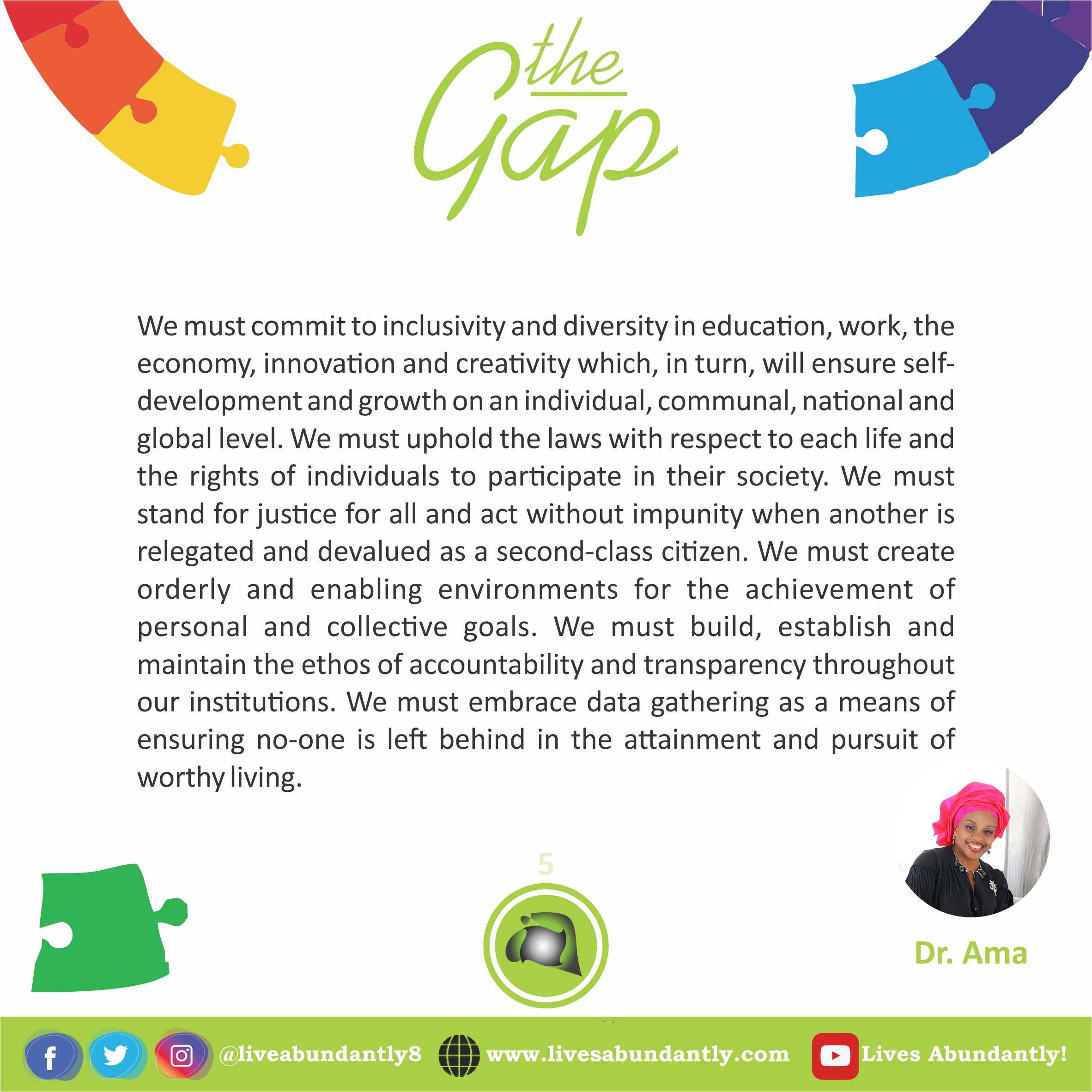 The Gap 5